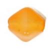 Glass Bead Lanterns 6mm Light Orange Strung